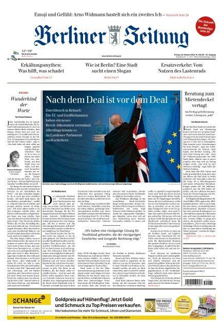 Berliner Zeitung 18.10.2019