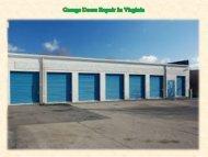 Garage Doors Repair In Virginia