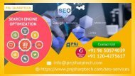 PNJ Sharptech Search Engine Optimization (SEO) Company at Affordable Prices