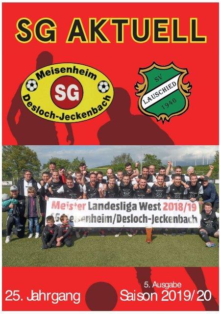 SG Aktuell 2019/2020 - Ausgabe 5