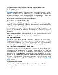 Buy Vidalista 40 mg Online   PayPal   Credit card  Generic Tadalafil 40 mg