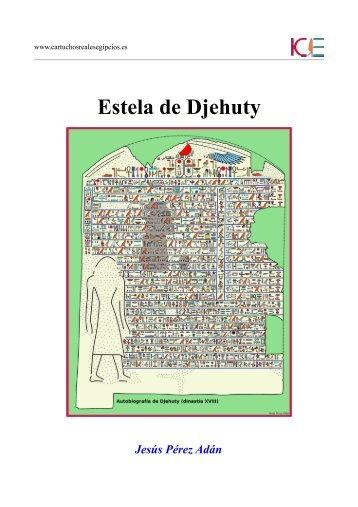 Estela de Djehuty