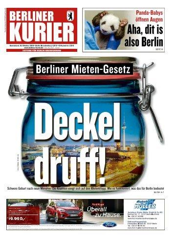 Berliner Kurier 19.10.2019