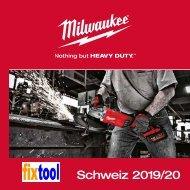 fixtool Maschinen Milwaukee 2. HJ 2019