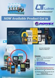 Lutron The Art of Measurement ROnexbd