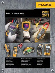Fluke Electrical Measurement Testing Tools Catalog 2012 2013 in Bangladesh