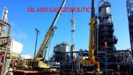 oil and gast geopolitics CONFLICT