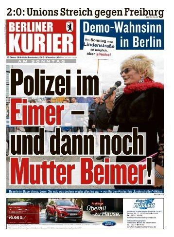 Berliner Kurier 20.10.2019