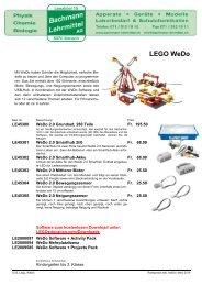 LEGO WeDo | Bachmann Lehrmittel