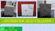 LUAR BIASA!!! CALL/WA 0811-9555-978, Jelly Collagen By Seacume Penghilang Jerawat Alami Cimahi