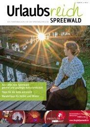 Ferienmagazin Urlaubsreich Spreewald Ausgabe Herbst/Winter 2019/20