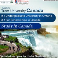 Trent University, Canada – One of the Top University in the World