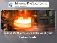 The Best ASTM A320 Grade Bolts for all your Business Needs