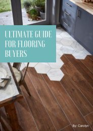 Ultimate Guide for Flooring Buyers