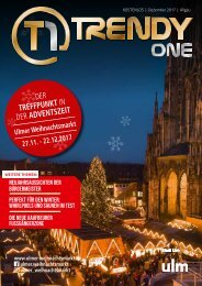 TRENDYone | Das Magazin - Allgäu - Dezember 2017