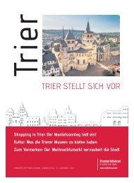 Trier stellt sich vor - Oktober 2019