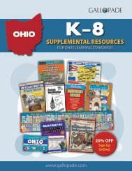 Ohio Supplemental Catalog