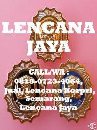 CALL/WA : 0818-0723-4064, Produksi, Lencana Korpri, Semarang, Lencana Jaya
