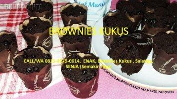 CALL/WA 0815-4279-0614,  JUAL, Brownies Kukus Coklat, Salatiga, SENJA (Semakin Jaya)