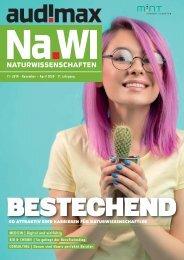 audimax Na.Wi 11-2019 - Karrieremagazin für Naturwissenschaftler