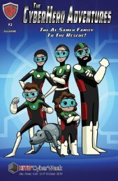 The Cyber Hero Adventures Edition #3
