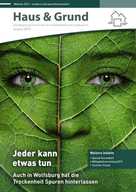 Haus & Grund Wolfsburg und Umgebung e.V. Ausgabe 05/2019 Oktober 2019