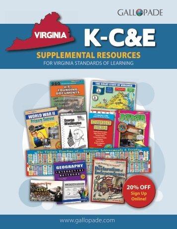 Virginia Supplemental Catalog