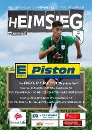 TSV Palmbach Saison 19-20 Heft 6
