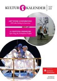 Kulturkalender November 11/19