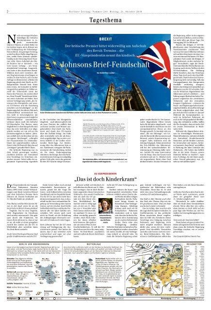 Berliner Zeitung 21.10.2019