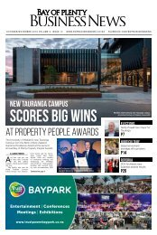 BAY OF PLENTY BUSINESS NEWS OCT/NOV 2019