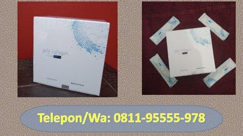 JUAL!!! CALL/WA 0811-9555-978, Jelly Collagen By Seacume Serum Pemutih Kulit Bahan Alami Blitar