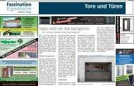 Faszination Eigenheim: Tore und Türen