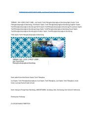 TERBAIK WA +62812-9627-2689 , Jual SepticTank Fiberglassbojongkuncibandung