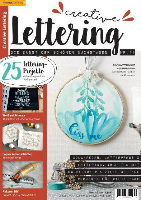Creative Lettering - Die Kunst der schönen Buchstaben 11/2019