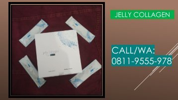 SOLUSI!!! CALL/WA 0811-9555-978, Jelly Collagen By Seacume Serum Pemutih Kulit Hitam