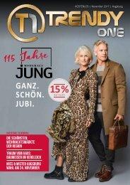 TRENDYone | Das Magazin - Augsburg - November 2017