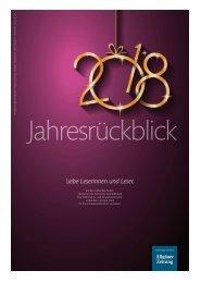 Jahresrückblick 2018 Füssen