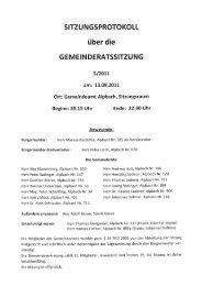 Gemeinderatssitzung (478 KB) - .PDF - Alpbach