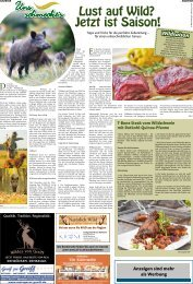 Uns schmeckts: Thema Wild