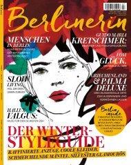 Berlinerin Heft 7 Herbst 2019