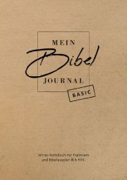 Mein BibelJournal - Basic