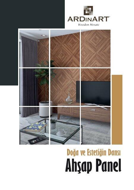 ARDINART - Ahşap Panel | Wooden Mosaic