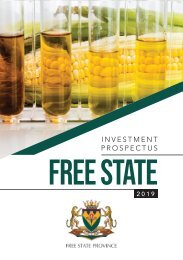 Free State Investment Prospectus 2019-20