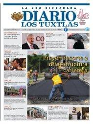 Edición de Diario los Tuxtlas del día 22 de octubre de 2019