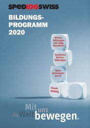 Bildungsprogramm 2020