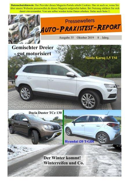 Auto-Praxistest-Report 35