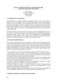 eesti vabariigi poliitika teenindussektori konkurentsivõime