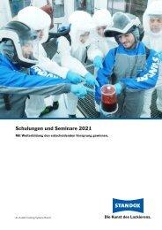 Standox Seminarbroschüre 2021