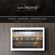 Lösungen für ein intelligentes Zuhause - Schutz | Komfort | Unterhaltung